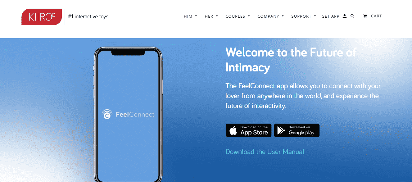 Kiiroo Onyx + app store