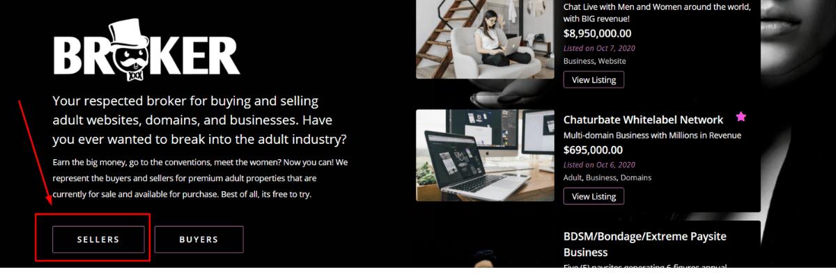 Broker.xxx dove vendere e acquistare domini e siti web per adulti