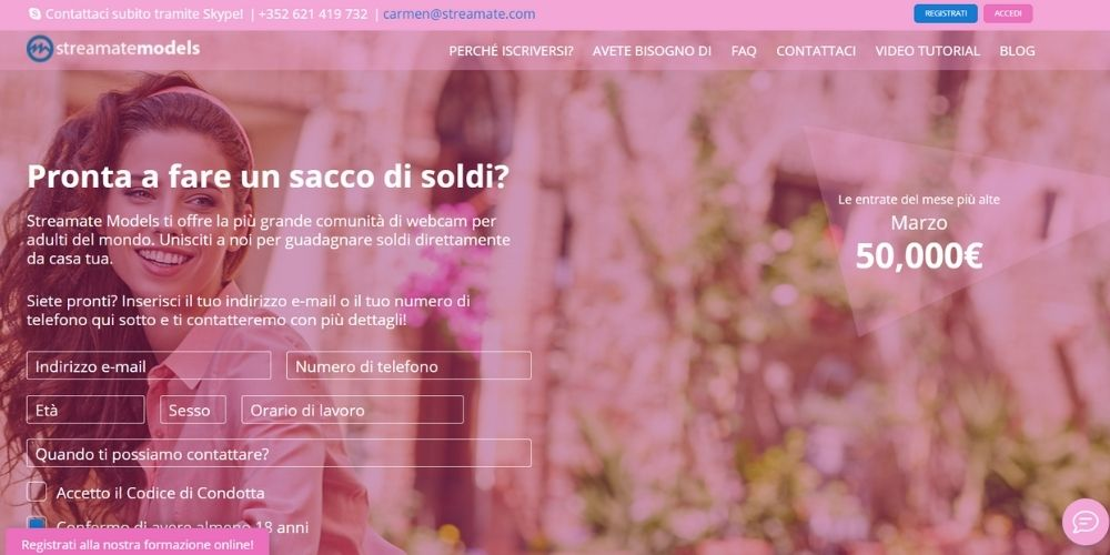 Streamate Italia