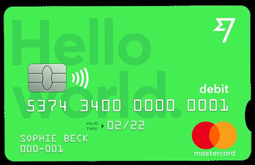 Wise carta di debito mastercard