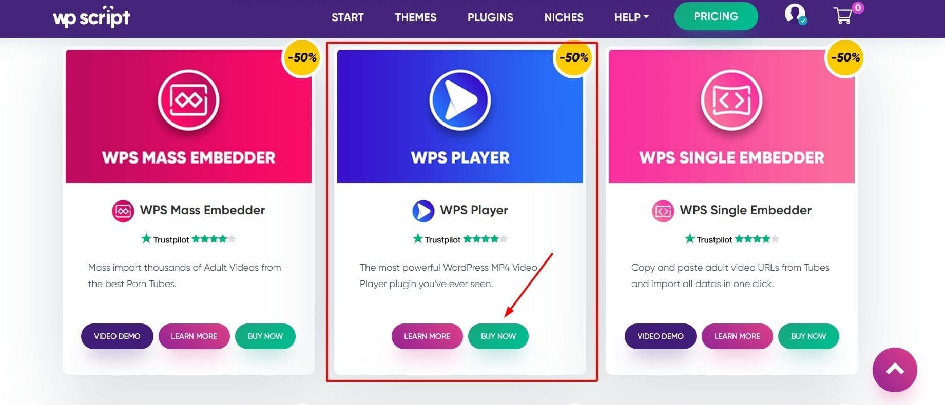 Plugin WPS Player